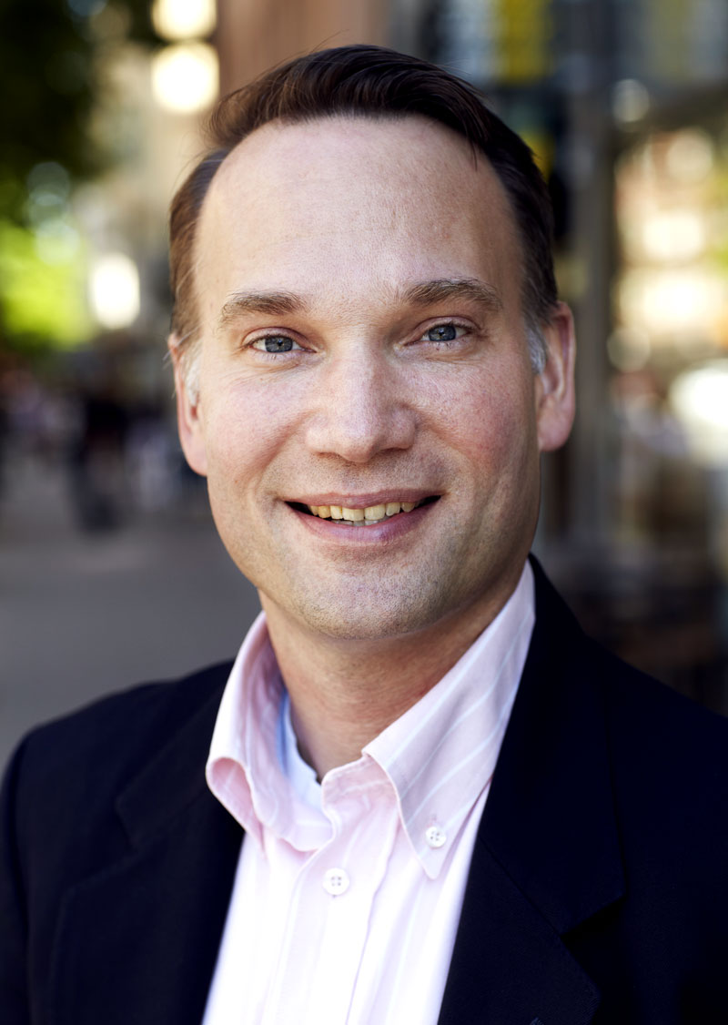 Gustav Rönne, project manager at Grandezza